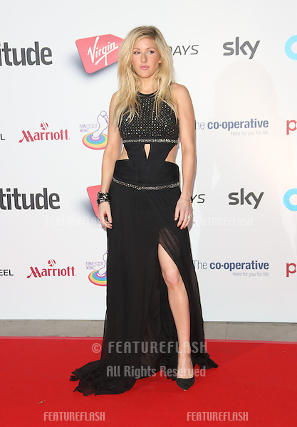 Ellie Goulding at the Attitude Magazine Awards 2013 - Arrivals held at the Royal Courts of Justice, London. 15/10/2013 Picture by: Henry Harris / Featureflash