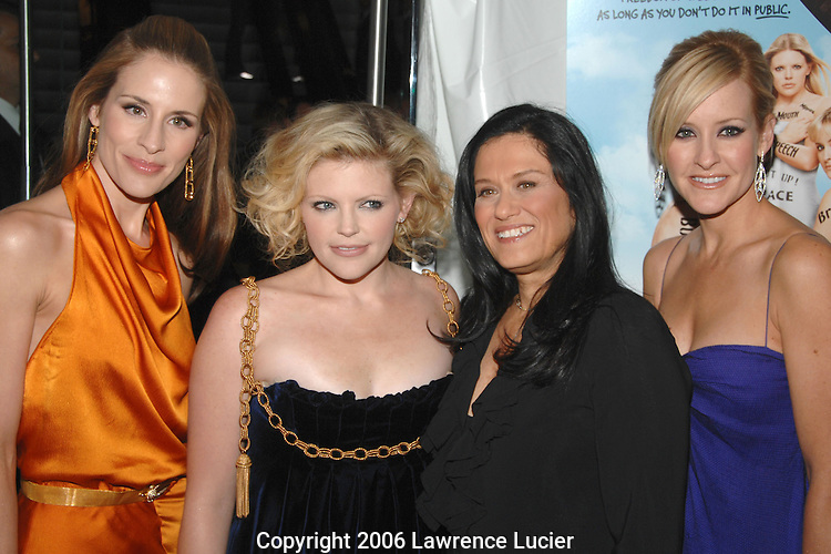 Emily Robinson, Natalie Maines, Barbara Kopple, and Martie Maguire
