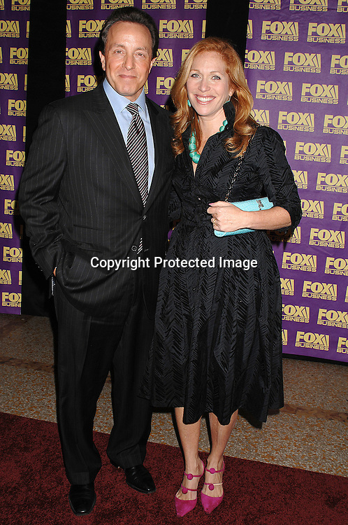 Jill Brooke and Gary Goldstein..at The Fox Business Network's launch Party on October 24, 2007 at The Metropolitan Museum of Art . ..Robin Platzer, Twin Images..212-935-0770