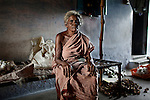 CHENNAI, INDIA, JULY 2012: Perumayee's mother in law, she Killed her 3rd Daugheter after 2 days she was born because she touhgt the 3rd female Child would bring bad luck in their home.July 2012.© Giulio Di Sturco