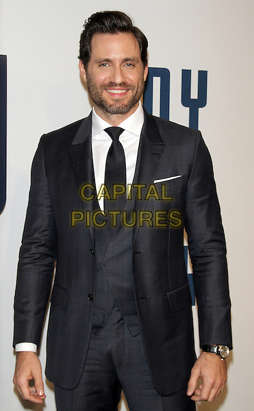 NEW YORK, NY - DECEMBER 13: Edgar Ramirez at the World Premiere of Joy at the Ziegfeld Theatre in New York City on December 13, 2015. <br /> CAP/MPI/RW<br /> &copy;RW/MPI/Capital Pictures