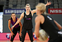 22.09.2018 Silver Ferns Jane Watson in action during Silver Ferns training in Melbourne. Mandatory Photo Credit ©Michael Bradley.