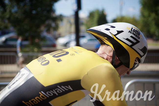Robert Gesink (NLD/LottoNL-Jumbo) after finishing the TTT<br /> <br /> Elite Men&rsquo;s Team Time Trial<br /> UCI Road World Championships Richmond 2015 / USA