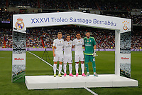 Real Madrid´s new players Casilla, Casemiro, Lucas V. and Cheryshev