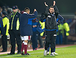 Hearts v St Johnstone...29.01.11  .Derek McInnes applauds the saints fans at full time.Picture by Graeme Hart..Copyright Perthshire Picture Agency.Tel: 01738 623350  Mobile: 07990 594431