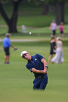 Joaquin Niemann (CHL) chips up on to 2 during round 2 of the 2019 Charles Schwab Challenge, Colonial Country Club, Ft. Worth, Texas,  USA. 5/24/2019.<br /> Picture: Golffile   Ken Murray<br /> <br /> All photo usage must carry mandatory copyright credit (© Golffile   Ken Murray)