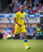 Jimmy Abdou of AFC Wimbledon during the Friendly match between Wycombe Wanderers and AFC Wimbledon at Adams Park, High Wycombe, England on 25 July 2017. Photo by Andy Rowland.