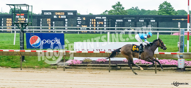 Howboutthemcowboys winning at Delaware Park on 7/13/16
