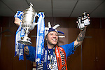 St Johnstone v Dundee United....17.05.14   William Hill Scottish Cup Final<br /> Stevie May celebrates in thr dressing room<br /> Picture by Graeme Hart.<br /> Copyright Perthshire Picture Agency<br /> Tel: 01738 623350  Mobile: 07990 594431
