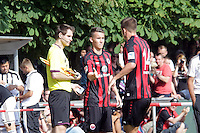 U17 Nationalspieler Luca Waldschmidt wird für Alex MEier (Eintracht) eingewechselt - Eintracht Frankfurt vs. VfR Aalen