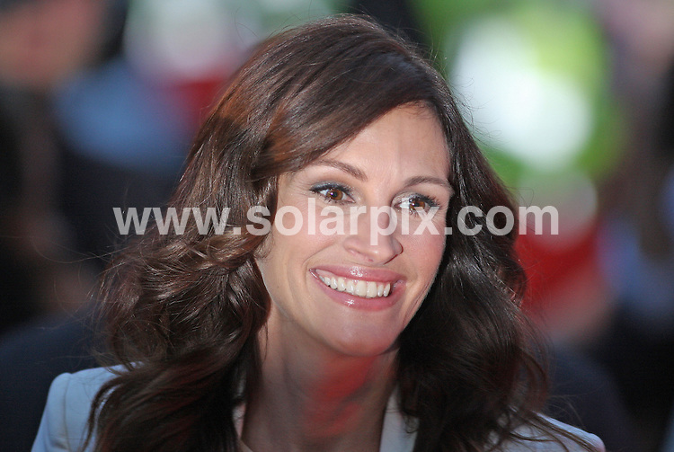 **ALL ROUND PICTURES FROM SOLARPIX.COM**                                             **WORLDWIDE SYNDICATION RIGHTS**                                                                                  Caption:  Guests attend the UK film premiere of - Eat, Pray, Love - at the Empire Leicester Square, London, UK. 22 September 2010                                                                           This pic: Julia Roberts                                                                                            JOB REF: 12172 LNJ       DATE: 22_09_2010                                                           **MUST CREDIT SOLARPIX.COM OR DOUBLE FEE WILL BE CHARGED**                                                                      **MUST AGREE FEE BEFORE ONLINE USAGE**                               **CALL US ON: +34 952 811 768 or LOW RATE FROM UK 0844 617 7637**