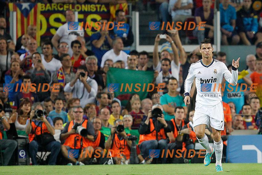 Real Madrid's Cristiano Ronaldo goal during la Liga match on october 7th 2012. ..Photo: Cesar Cebola  / ALFAQUI .Barcellona 7/10/2012 Camp Nou.Football Calcio 2012/2013 Liga.Barcellona Real Madrid.Foto Insidefoto / Alterphotos.ITALY ONLY