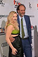 LOS ANGELES, CA. October 24, 2018: Chloe Grace Moretz &amp; Luca Guadagnino at the Los Angeles premiere for &quot;Suspiria&quot; at the Cinerama Dome.<br /> Picture: Paul Smith/Featureflash