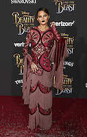 www.acepixs.com<br /> <br /> March 2 2017, LA<br /> <br /> Chrissy Teigen arriving at the premiere of Disney's 'Beauty And The Beast' at the El Capitan Theatre on March 2, 2017 in Los Angeles, California.<br /> <br /> By Line: Famous/ACE Pictures<br /> <br /> <br /> ACE Pictures Inc<br /> Tel: 6467670430<br /> Email: info@acepixs.com<br /> www.acepixs.com
