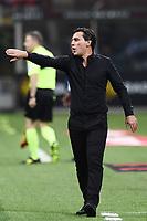 Milano 27-08-2017 Stadio Giuseppe Meazza in San Siro Calcio Serie A 2017/2018 Milan - Cagliari Foto Imagesport/Insidefoto <br /> nella foto: Vincenzo Montella