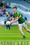 Chris O'Donoghue Kerry in action against  Louth in the All Ireland Minor Football Quarter Finals at O'Moore Park, Portlaoise on Saturday.