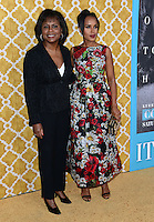 Kerry Washington + Anita Hill @ the HBO premiere of 'Confirmation' held @ the Paramount Studios theatre.<br /> March 31, 2016