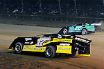Sep 12, 2010; 12:27:01 AM; Rossburg, OH., USA; The 40th annual running of the World 100 Dirt Late Models racing for the Globe trophy at the Eldora Speedway.  Mandatory Credit: (thesportswire.net)