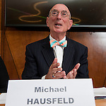Brussels-Belgium - June 22, 2016 -- Attorney Michael D. HAUSFELD, founder and chairman of the global law firm 'Hausfeld', during a press briefing on lawsuits against Volkswagen  -- Photo © HorstWagner.eu