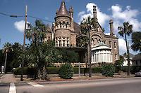 Galveston:  Walter Gresham House, 1881 (now Bishop's House Newman Fellowship) 1402 Broadway. Nicholas J. Clayton, Arch.