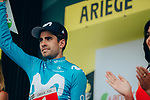 Mikel Landa (ESP) Movistar Team wins the days combativity prize at the end of Stage 15 of the 2019 Tour de France running 185km from Limoux to Foix Prat d'Albis, France. 20th July 2019.<br /> Picture: ASO/Thomas Maheux | Cyclefile<br /> All photos usage must carry mandatory copyright credit (© Cyclefile | ASO/Thomas Maheux)