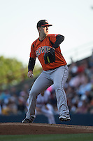 Bowie Baysox starting pitcher Terry Doyle (34) in action against the Richmond Flying Squirrels at The Diamond on May 23, 2015 in Richmond, Virginia.  The Baysox defeated the Flying Squirrels 3-2.  (Brian Westerholt/Four Seam Images)
