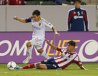 CARSON, CA - May 19, 2012: Chivas USA vs Real Salt Lake match at the Home Depot Center in Carson, California. Final score, Chivas USA 1, Real Salt Lake 4.