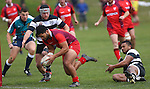 NELSON, NEW ZEALAND - May 30: Tasman Trophy Stoke v Moutere on May 30, 2015 in Nelson, New Zealand. (Photo by: Evan Barnes Shuttersport Limited)