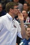 13.12.2018,  Lueneburg GER, VBL, DVV Pokal, Halbfinale, SVG Lueneburg vs  Berlin Recycling Volleys im Bild Trainer Stefan Huebner (Hübner Lueneburg) / Foto © nordphoto / Witke