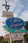 The Blue Lagoon Motel.