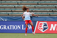 Cary, North Carolina  - Sunday May 21, 2017: Casey Short during a regular season National Women's Soccer League (NWSL) match between the North Carolina Courage and the Chicago Red Stars at Sahlen's Stadium at WakeMed Soccer Park. Chicago won the game 3-1.