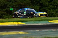 IMSA WeatherTech SportsCar Championship<br /> Michelin GT Challenge at VIR<br /> Virginia International Raceway, Alton, VA USA<br /> Friday 25 August 2017<br /> 80, Mercedes, Mercedes AMG GT3, GTD, Dan Knox, Mike Skeen<br /> World Copyright: Richard Dole<br /> LAT Images<br /> ref: Digital Image RD_VIR_17_103