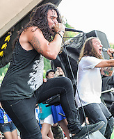 Born of Osiris performs at the Vans Warped Tour in Atlanta, GA on July 26, 2012.  Copyright © 2012 by HIGH ISO Music, LLC.