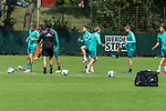 28.07.2020, Trainingsgelaende am wohninvest WESERSTADION,, Bremen, GER, 1.FBL, Werder Bremen Training U23, im Bild<br /> <br /> Lauftraining mit Kevin Möhwald / Moehwald (Werder Bremen #06)<br /> <br /> <br /> <br /> Foto © nordphoto / Kokenge