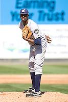 July 18, 2010: Eugene Emeralds pitcher Dexter Carter (#36) during a Northwest League game against the Everett AquaSox at Everett Memorial Stadium in Everett, Washington.