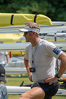Lucerne, SWITZERLAND, 12th July 2018, Friday  FISA World Cup series, No.3, Lake Rotsee, Lucerne,  Photographer Karon PHILLIPS. NZL M1X, Mahe DRYSDALE.