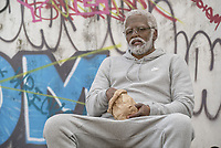 Uncle Drew (2018)<br /> Kyrie Irving as &quot;Uncle Drew&quot;<br /> *Filmstill - Editorial Use Only*<br /> CAP/KFS<br /> Image supplied by Capital Pictures