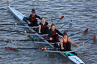 Crew: 306  VRC (F)  Vesta RC (K Austin)  W 4x- Chall<br /> <br /> Fours Head of the River 2018<br /> <br /> To purchase this photo, or to see pricing information for Prints and Downloads, click the blue 'Add to Cart' button at the top-right of the page.