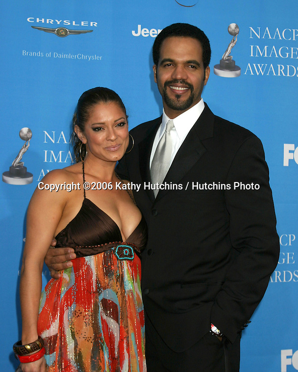 Alana St John.Kristoff St John.37th NAACP Image Awards.Shrine Auditorium.Los Angeles, CA.February 25, 2006.©2006 Kathy Hutchins / Hutchins Photo....