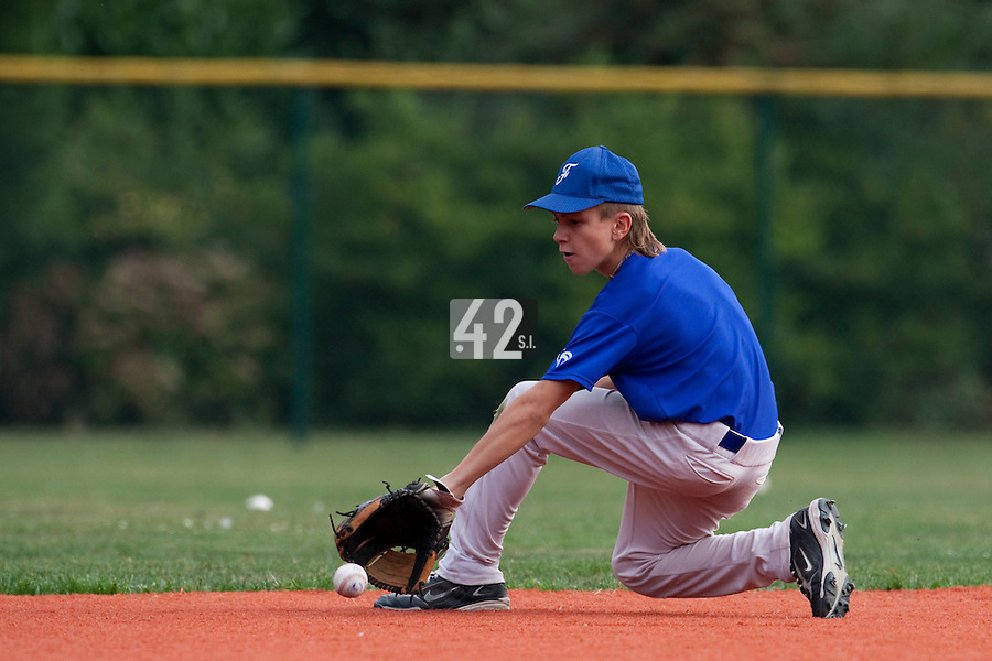 23 September 2009: Pole Baseball Rouen, Dylan Mayeux