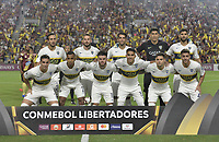 IBAGUE - COLOMBIA, 24-04-2019: Jugadores del Boca posan para una foto previo al e partido por la ronda 4, grupo G, de la Copa CONMEBOL Libertadores 2019 entre Deportes Tolima de Colombia y Boca Juniors de Argentina jugado en el estadio Manuel Murillo Toro de la ciudad de Ibagué. / Players of Boca pose to a photo prior As part of round 4, group G, of Copa CONMEBOL Libertadores 2019 between Deportes Tolima of Colombia and Boca Juniors of Argentina played at Manuel Murillo Toro stadium in Ibague city. Photo: VizzorImage / Alejandro Rosales / Cont