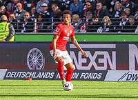 Jean-Philippe Gbamin (1. FSV Mainz 05) - 12.05.2019: Eintracht Frankfurt vs. 1. FSV Mainz 05, 33. Spieltag Bundesliga, Commerzbank Arena, DISCLAIMER: DFL regulations prohibit any use of photographs as image sequences and/or quasi-video.