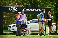 Min Seo Kwak (KOR) and Belen Mozo (ESP) wait to tee off on 17 during Thursday's round 1 of the 2017 KPMG Women's PGA Championship, at Olympia Fields Country Club, Olympia Fields, Illinois. 6/29/2017.<br /> Picture: Golffile | Ken Murray<br /> <br /> <br /> All photo usage must carry mandatory copyright credit (&copy; Golffile | Ken Murray)