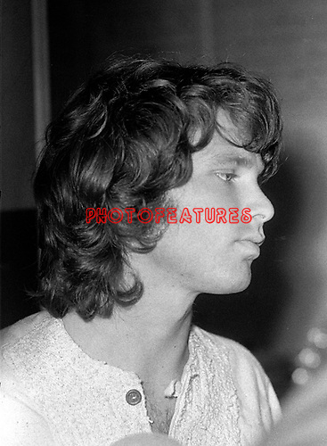 The Doors 1968 Jim Morrison..© Chris Walter..