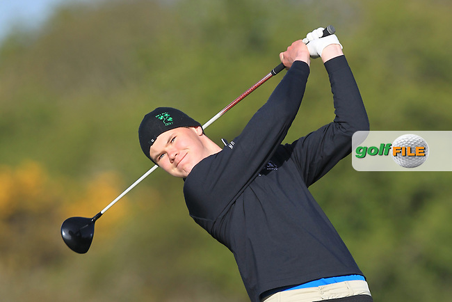 David Brady (Co. Sligo) on the 4th tee during Round 1 of the Munster Stroke Play Championship at Cork Golf Club on Saturday 30th April 2016.<br /> Picture:  Thos Caffrey / www.golffile.ie
