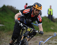 18th May 2014; Damien Daly, Gravity Enduro Mountain Biking Round 2, Ticknock Hill, Co Dublin. Picture credit: Tommy Grealy/actionshots.ie.