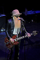 LONDON, ENGLAND - JULY 4: Billy Gibbons performing with 'Supersonic Blues Machine' at Shepherd's Bush Empire on July 4, 2018 in London, England.<br /> CAP/MAR<br /> &copy;MAR/Capital Pictures