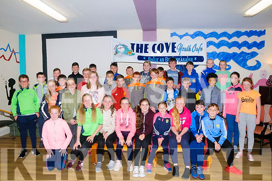 "Cove Youth Cafe: 6th class pupils from Ballybunion  schools pictutred at the ""Starting Back Up"" programme for 6th class to transition to secondary school at the Cove Youth cafe on Friday night last."