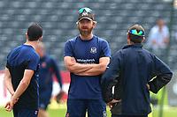 Gloucestershire head coach Richard Dawson looks on ahead of Gloucestershire vs Essex Eagles, NatWest T20 Blast Cricket at The Brightside Ground on 13th August 2017
