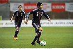 Atsuto Uchida (JPN),.FEBRUARY 6, 2013 - Football / Soccer :.Kirin Challenge Cup 2013 match between Japan 3-0 Latvia at Home's Stadium Kobe in Hyogo, Japan. (Photo by Takamoto Tokuhara/AFLO)